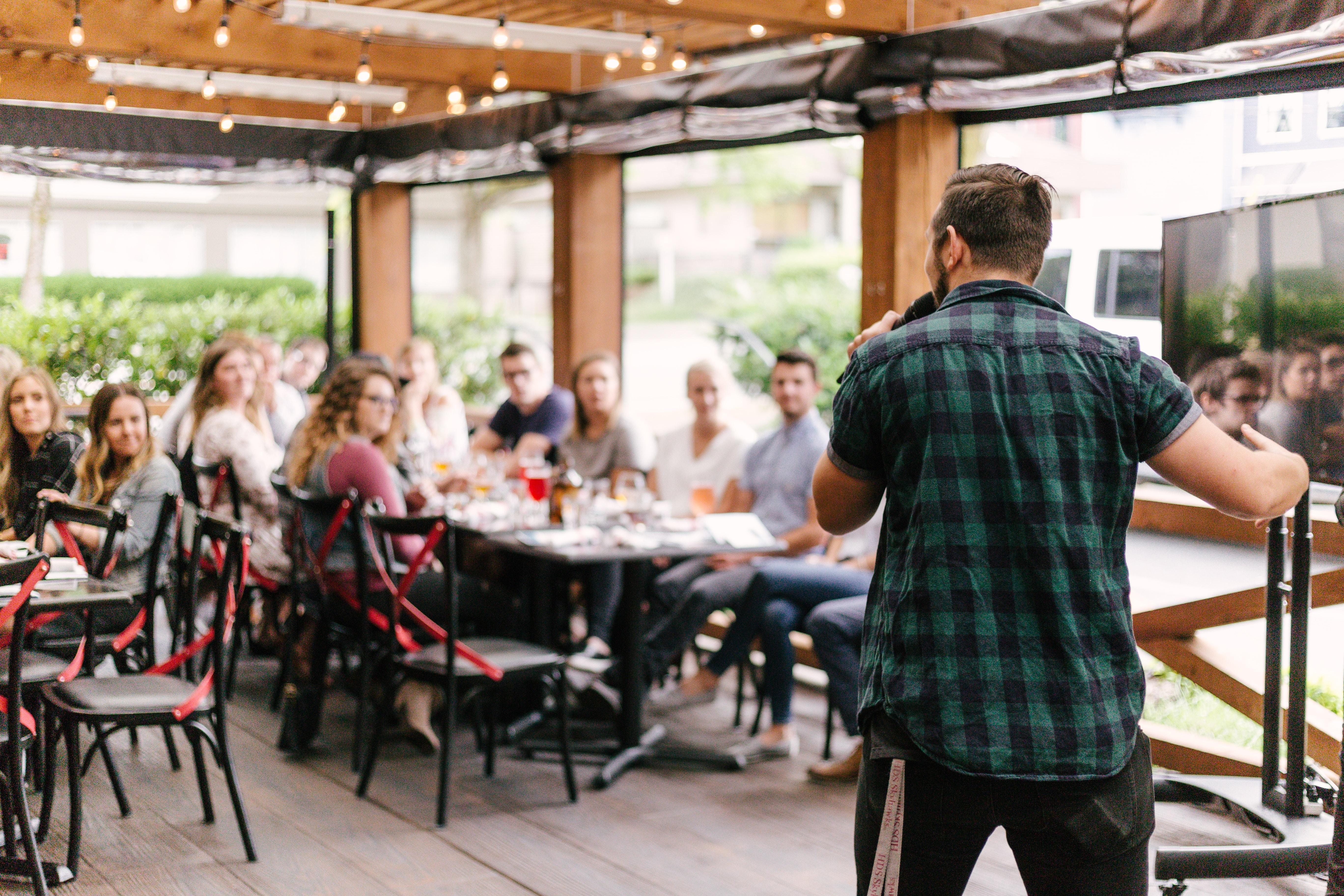 המעבדה לדיבור מול קהל